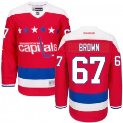 Washington Capitals Chris Brown Official Red Reebok Premier Adult Alternate NHL Hockey Jersey
