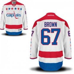Washington Capitals Chris Brown Official White Reebok Premier Adult Alternate NHL Hockey Jersey