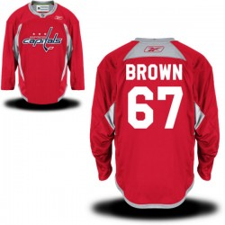 Washington Capitals Chris Brown Official Red Reebok Authentic Adult Alternate NHL Hockey Jersey
