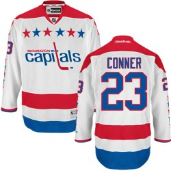 Washington Capitals Chris Conner Official White Reebok Authentic Adult Third NHL Hockey Jersey