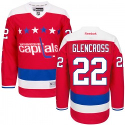 Washington Capitals Curtis Glencross Official Red Reebok Premier Adult Alternate NHL Hockey Jersey