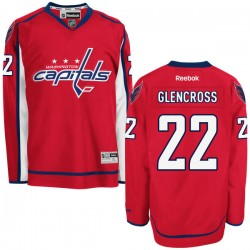 Washington Capitals Curtis Glencross Official Red Reebok Authentic Adult Home NHL Hockey Jersey
