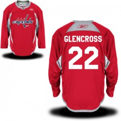 Washington Capitals Curtis Glencross Official Red Reebok Authentic Adult Alternate NHL Hockey Jersey