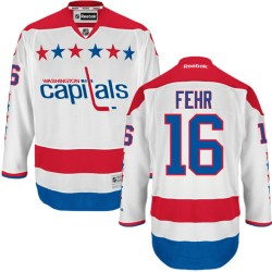 Washington Capitals Eric Fehr Official White Reebok Authentic Adult Third NHL Hockey Jersey