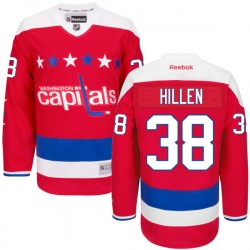 Washington Capitals Jack Hillen Official Red Reebok Authentic Adult Alternate NHL Hockey Jersey