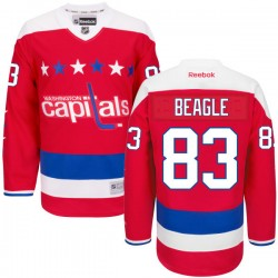 Washington Capitals Jay Beagle Official Red Reebok Premier Adult Alternate NHL Hockey Jersey