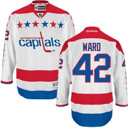 Washington Capitals Joel Ward Official White Reebok Authentic Adult Third NHL Hockey Jersey