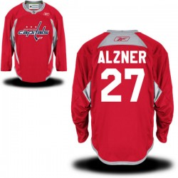 Washington Capitals Karl Alzner Official Red Reebok Premier Adult Alternate NHL Hockey Jersey