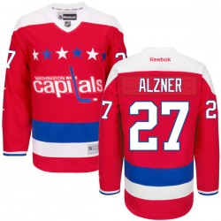 Washington Capitals Karl Alzner Official Red Reebok Authentic Adult Alternate NHL Hockey Jersey
