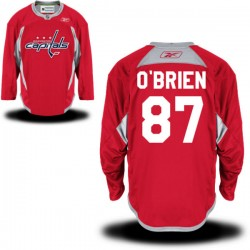Washington Capitals Liam O'brien Official Red Reebok Premier Adult Alternate NHL Hockey Jersey
