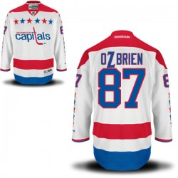 Washington Capitals Liam O'brien Official White Reebok Authentic Adult Alternate NHL Hockey Jersey