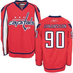 Washington Capitals Marcus Johansson Official Red Reebok Authentic Adult Home NHL Hockey Jersey
