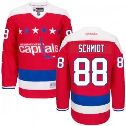 Washington Capitals Nate Schmidt Official Red Reebok Premier Adult Alternate NHL Hockey Jersey