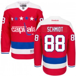 Washington Capitals Nate Schmidt Official Red Reebok Authentic Adult Alternate NHL Hockey Jersey