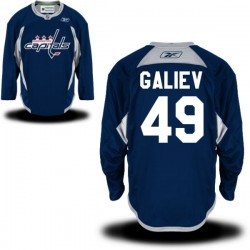 Washington Capitals Stanislav Galiev Official Navy Blue Reebok Premier Adult Practice Team NHL Hockey Jersey