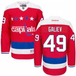Washington Capitals Stanislav Galiev Official Red Reebok Authentic Adult Alternate NHL Hockey Jersey
