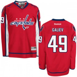Washington Capitals Stanislav Galiev Official Red Reebok Authentic Adult Home NHL Hockey Jersey