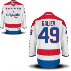 Washington Capitals Stanislav Galiev Official White Reebok Authentic Adult Alternate NHL Hockey Jersey