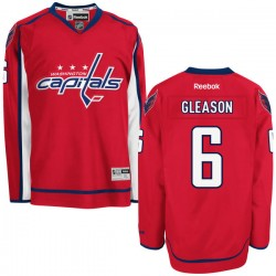 Washington Capitals Tim Gleason Official Red Reebok Premier Adult Home NHL Hockey Jersey