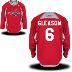 Washington Capitals Tim Gleason Official Red Reebok Premier Adult Alternate NHL Hockey Jersey