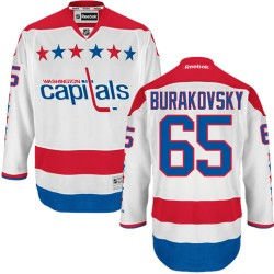 Washington Capitals Andre Burakovsky Official White Reebok Authentic Adult Third NHL Hockey Jersey