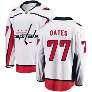 Washington Capitals Adam Oates Official White Fanatics Branded Breakaway Youth Away NHL Hockey Jersey