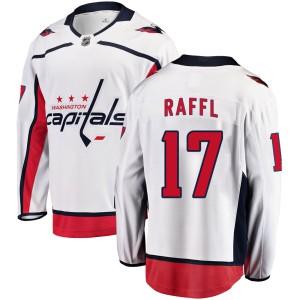 Washington Capitals Michael Raffl Official White Fanatics Branded Breakaway Youth Away NHL Hockey Jersey