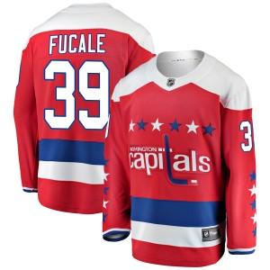 Washington Capitals Zach Fucale Official Red Fanatics Branded Breakaway Adult Alternate NHL Hockey Jersey