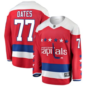 Washington Capitals Adam Oates Official Red Fanatics Branded Breakaway Adult Alternate NHL Hockey Jersey
