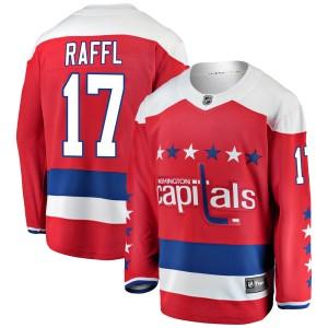 Washington Capitals Michael Raffl Official Red Fanatics Branded Breakaway Adult Alternate NHL Hockey Jersey