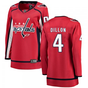 Washington Capitals Brenden Dillon Official Red Fanatics Branded Breakaway Women's ized Home NHL Hockey Jersey
