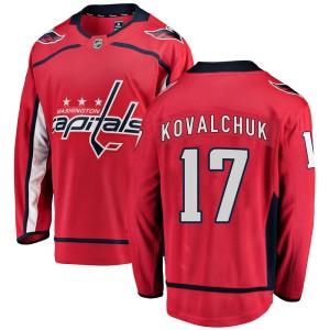 Washington Capitals Ilya Kovalchuk Official Red Fanatics Branded Breakaway Adult ized Home NHL Hockey Jersey