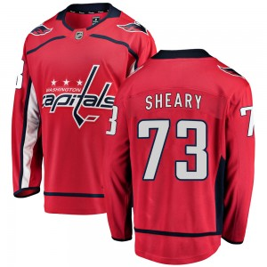 Washington Capitals Conor Sheary Official Red Fanatics Branded Breakaway Adult Home NHL Hockey Jersey