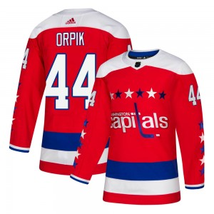 Washington Capitals Brooks Orpik Official Red Adidas Authentic Youth Alternate NHL Hockey Jersey