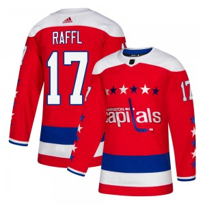 Washington Capitals Michael Raffl Official Red Adidas Authentic Youth Alternate NHL Hockey Jersey
