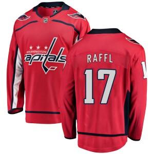 Washington Capitals Michael Raffl Official Red Fanatics Branded Breakaway Youth Home NHL Hockey Jersey