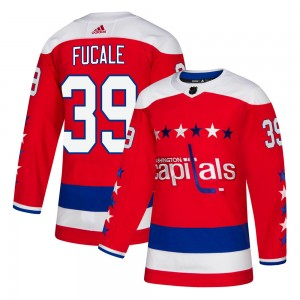 Washington Capitals Zach Fucale Official Red Adidas Authentic Adult Alternate NHL Hockey Jersey