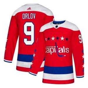 Washington Capitals Dmitry Orlov Official Red Adidas Authentic Adult Alternate NHL Hockey Jersey