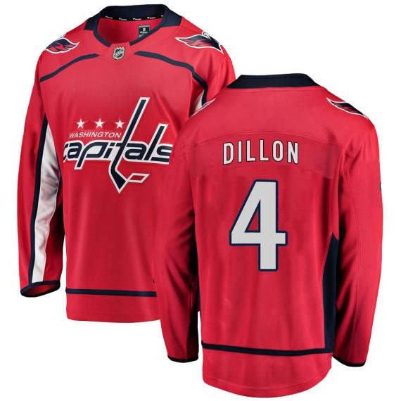 Washington Capitals Brenden Dillon Official Red Fanatics Branded Breakaway Adult ized Home NHL Hockey Jersey