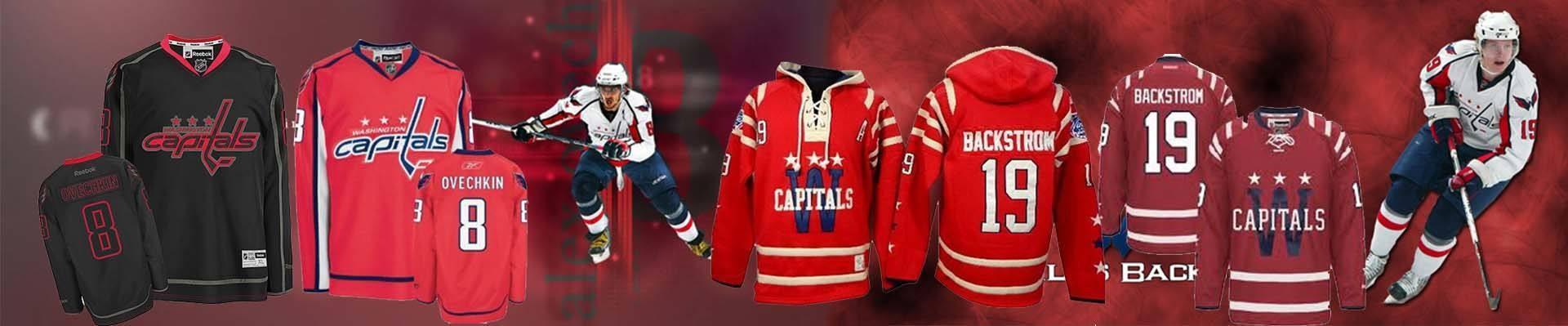 Capitals Jerseys